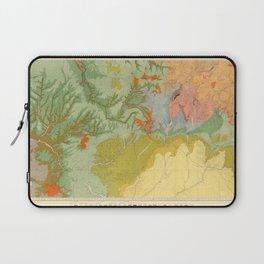 Vintage Southwest Map Laptop Sleeve
