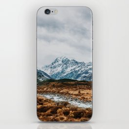 Mount Cook National Park iPhone Skin