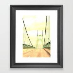 ST JOHNS BRIDGE Framed Art Print
