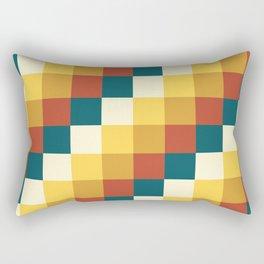 My Honey Pot - Pixel Pattern in yellow tint colors Rectangular Pillow