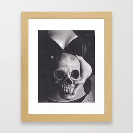 Flesh and Bone Framed Art Print