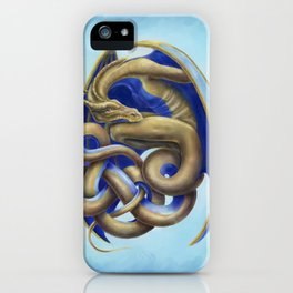 Twisted Dragon iPhone Case