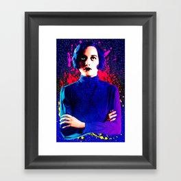 Joan Crawford, The digital Taxi Dancer Framed Art Print