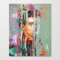 tchmo Canvas Prints featuring Untitled 20140629s by tchmo