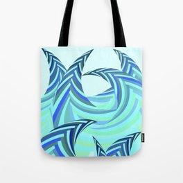 Grafidoodle Waves II Tote Bag
