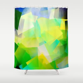 A light, short winter's day ... Shower Curtain