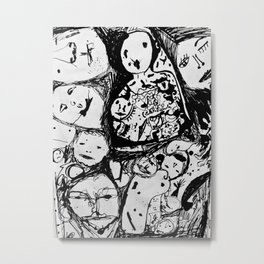 The Loss of a Mind Metal Print