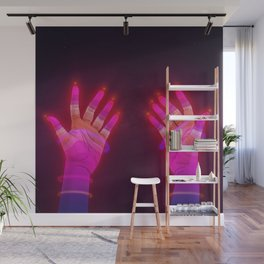 Psychedelic Energy Hands 4 (GIF) Wall Mural