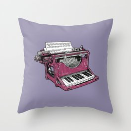 The Composition - P. Throw Pillow