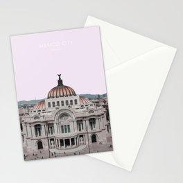 Mexico City Travel Artwork Stationery Cards