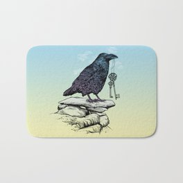 Raven's Keys Bath Mat
