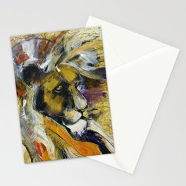 Lion Wall Art Home Decor Stationery Cards