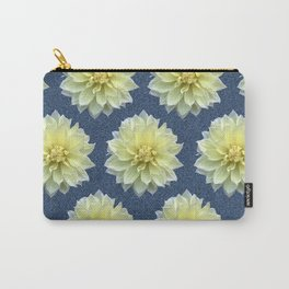 Magnolia Blue Carry-All Pouch