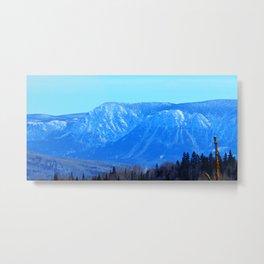 Chic-Choc Blue Mountains Metal Print
