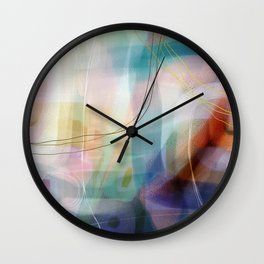 Coconut Creme Brule Wall Clock