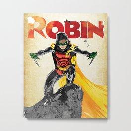 Robin Damian Metal Print