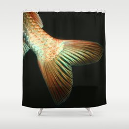 Fishy Tail Shower Curtain
