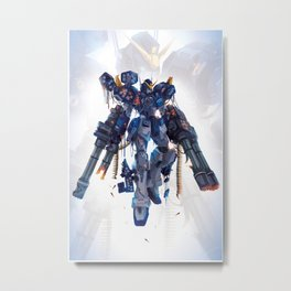 Heavy Arms Metal Print