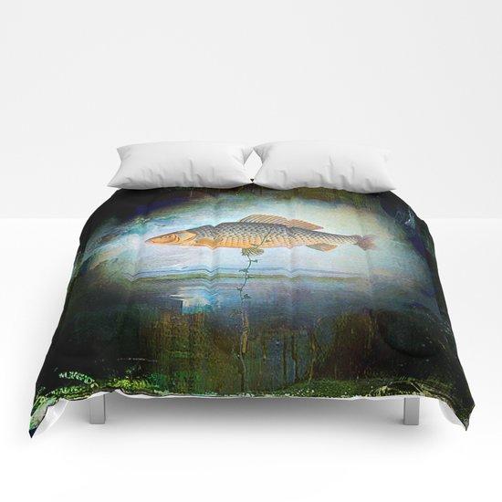 The surrealist fish Comforters