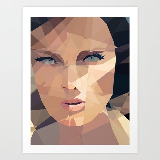 Beautiful Face Art Print