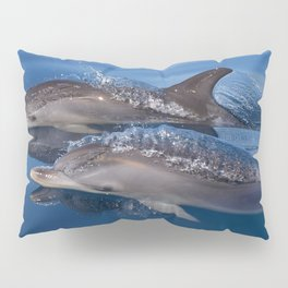 Beautiful Spotted dolphins Stenella frontalis Pillow Sham