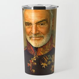 Sir Sean Connery - replaceface Travel Mug