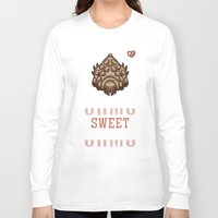nausicaa Long Sleeve T-shirts featuring Ohmu Sweet Ohmu by adho1982