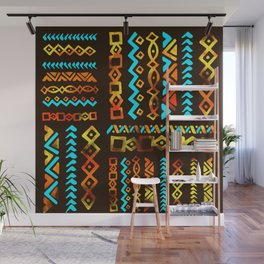 Bold Ethnic pattern n.5 Wall Mural