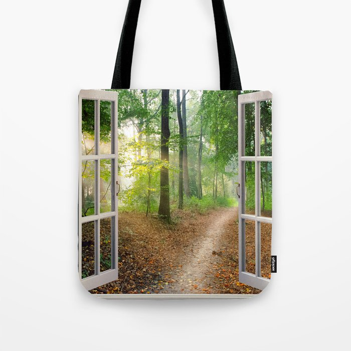Window Tapestries Style Tote Bag