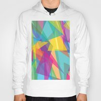 transparent Hoodies featuring Transparent Triangles by AleyshaKate