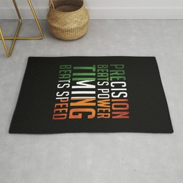 Conor McGregor Precision Beats Timing Rug