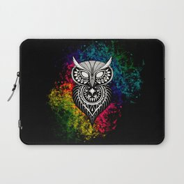 Tribal Owl Laptop Sleeve