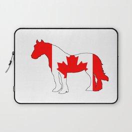 "Horse ""Canada"" Laptop Sleeve"