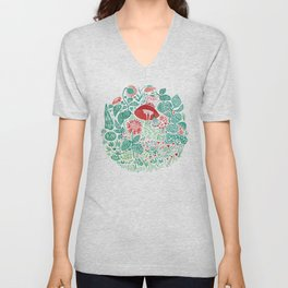 Flower Distraction Unisex V-Neck