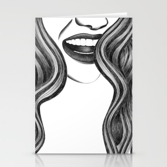 EL PELO Stationery Cards