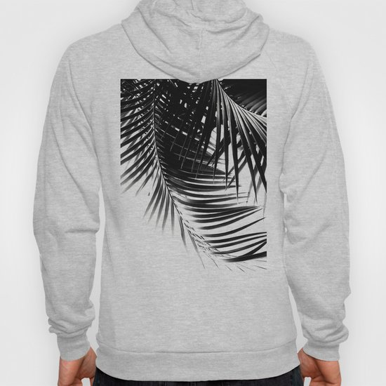 Palm Leaves Black & White Vibes #1 #tropical #decor #art #society6 by anitabellajantz