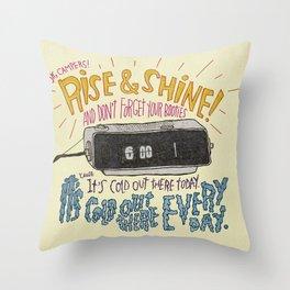 GROUNDHOGGIN' Y'ALL Throw Pillow