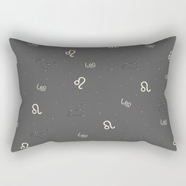 Leo Pattern Rectangular Pillow