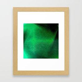Eternal Knot Pattern 2 (Emerald) Framed Art Print