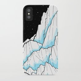 The Ice mountains iPhone Case