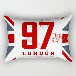 Vintage London Rectangular Pillow