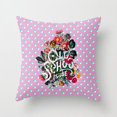 The Old School Throw Pillow