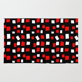 rectangle and abstraction 4-mutlicolor,abstraction,abstract,fun,rectangle,square,rectangled,geometri Rug