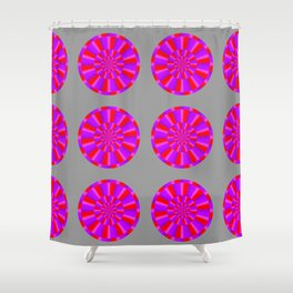 red marts Shower Curtain