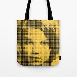 Face of raster Tote Bag