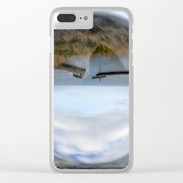Whitby harbour Clear iPhone Case