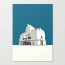 ODEON Balham Canvas Print