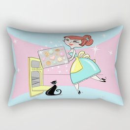 The Joy Of Cookies Rectangular Pillow