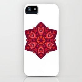 Valentine's Day Mandala iPhone Case