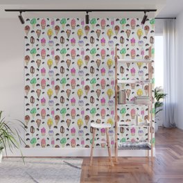 Ice Cream Flavors Wall Mural